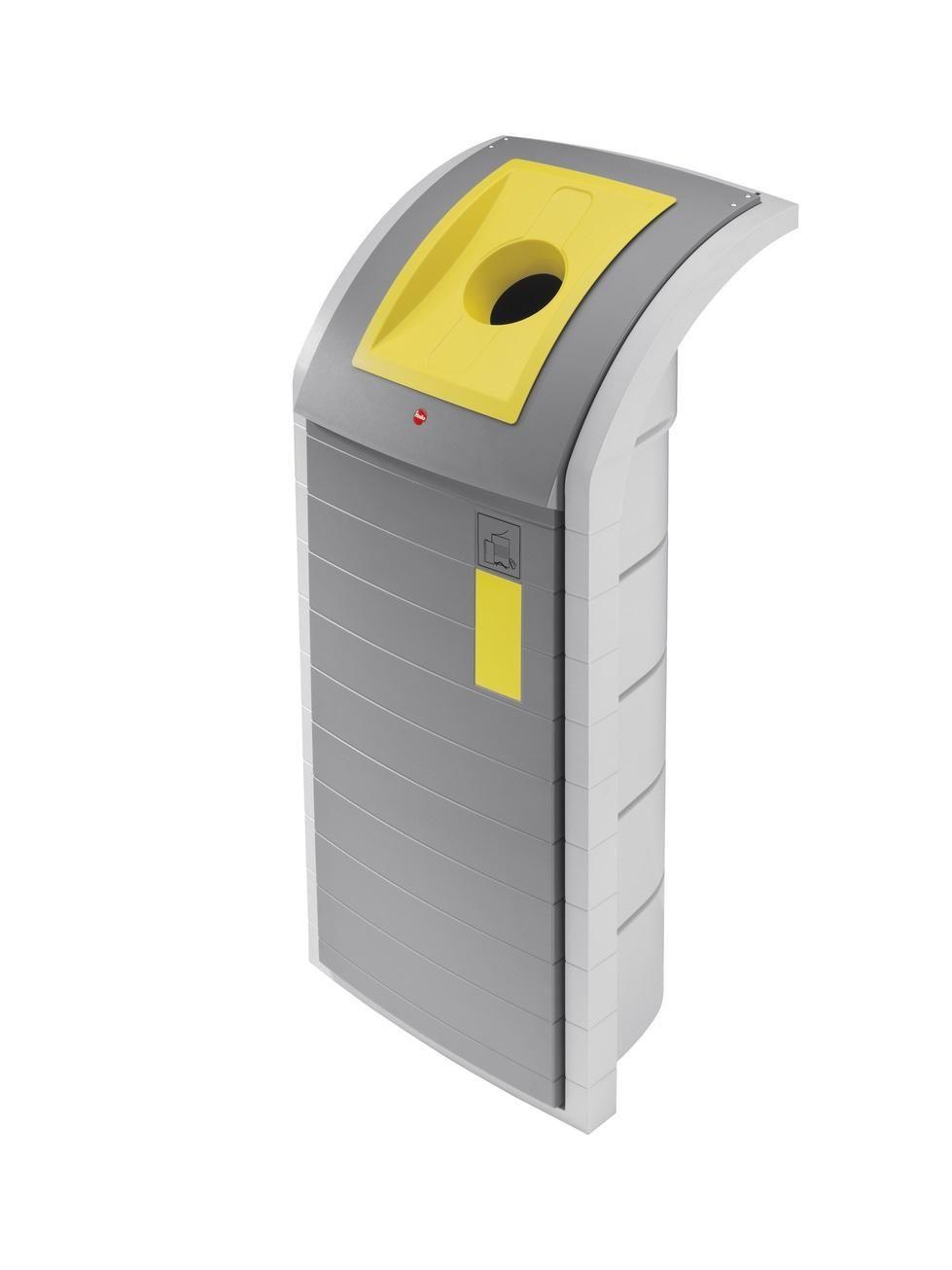 Velkoobjemový odpadkový koš Hailo ProfiLine WSB Design plus XXXL 120 litrů