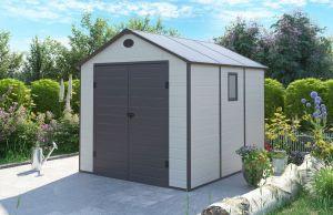 Zahradní domek na nářadí G21 PAH 670 - 241x278 cm plast
